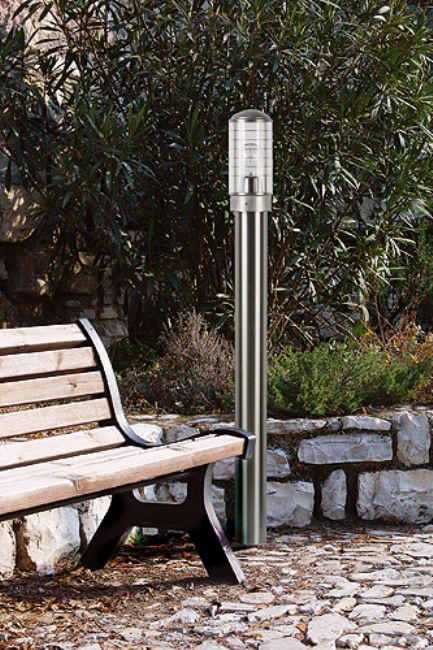 Light stainless steel aisi 316l lighting italy fixturers for gardens and outdoor