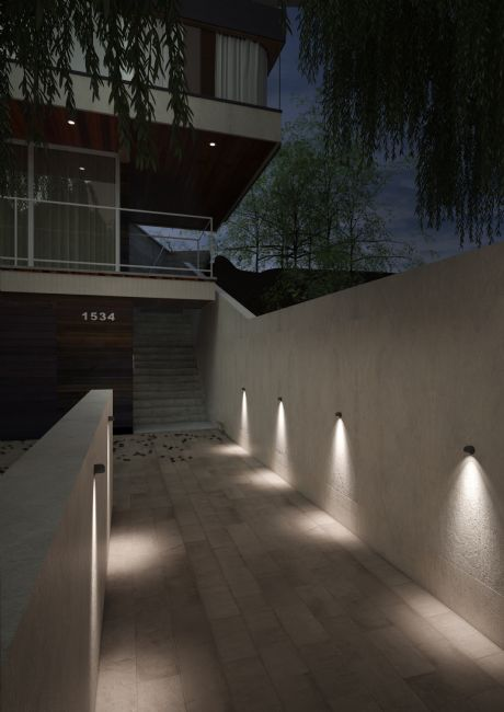Slideshow project outdoor lighting italy